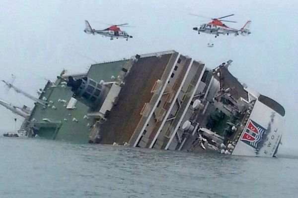 seeking sewol ferry korea