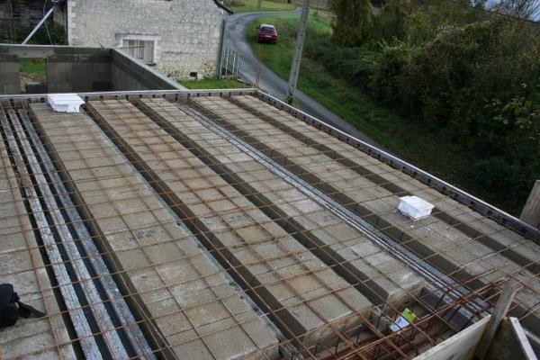 Libertad une maison chinon 37 petite histoire de la construction de n - Epaisseur dalle beton maison ...