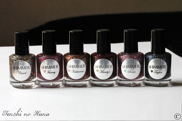 Shimmer polishes 1