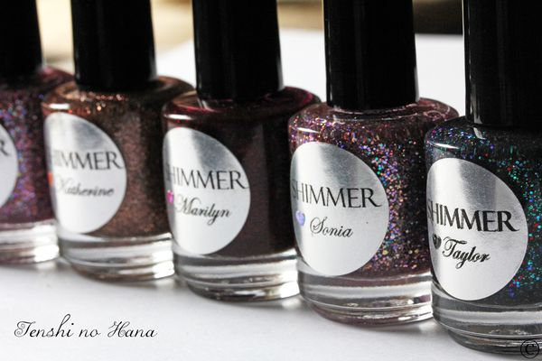Shimmer polishes 2