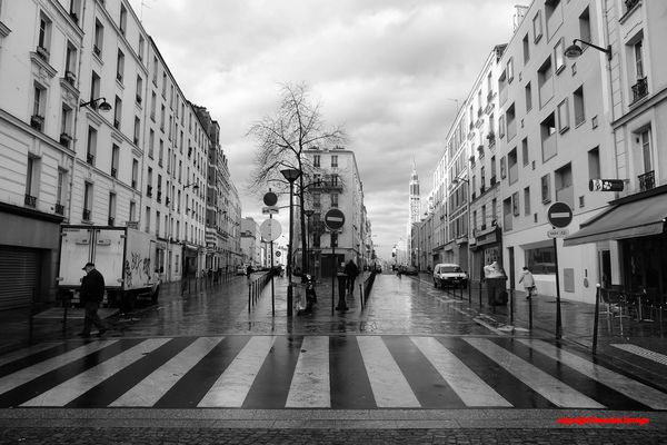 paysage urbain paris 20 photographies de fran oise larouge. Black Bedroom Furniture Sets. Home Design Ideas