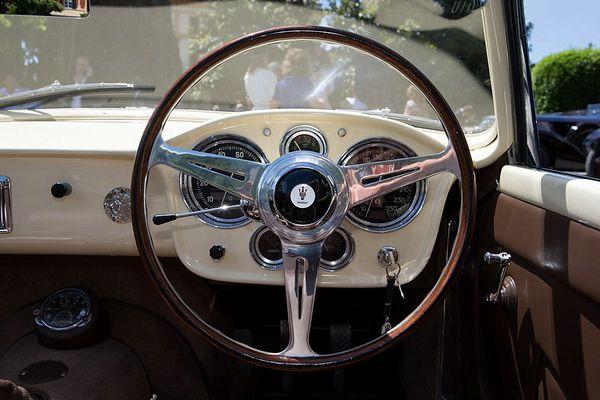 voitures de legende  410    maserati 150 gt fantuzzi spider prototype - 1957