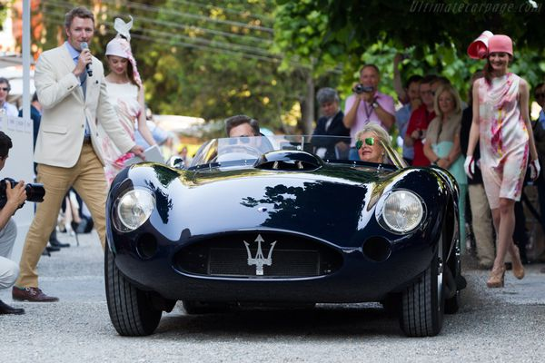 voitures de legende  407    maserati 450 s - 1956