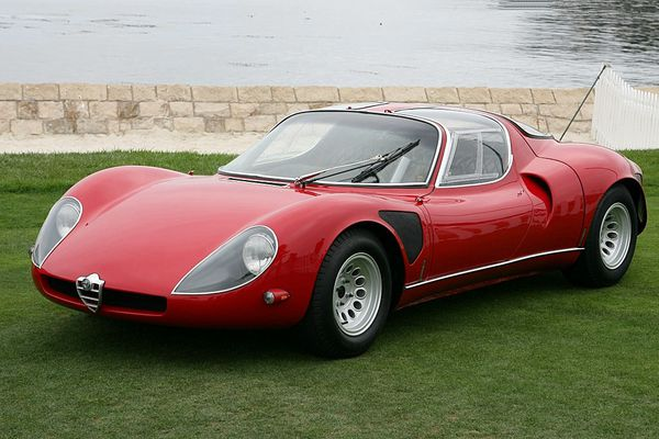 voitures de legende 118 alfa romeo 33 stradale 1967 victor association. Black Bedroom Furniture Sets. Home Design Ideas