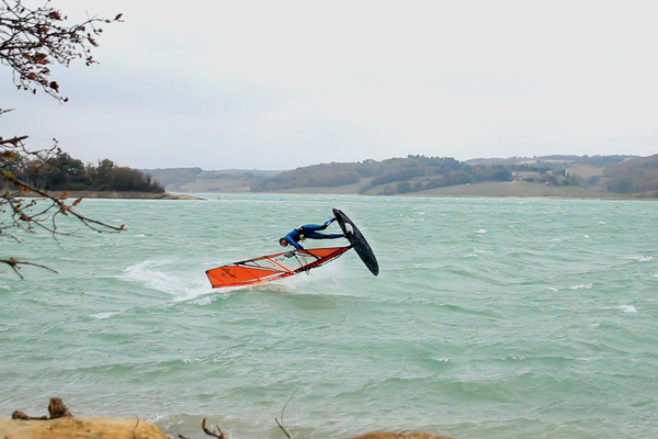 Ped Ponch Pierre Garambois Airscape Loftsails 2015 windsurf