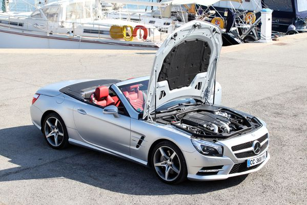 Mercedes SL 500 Edition 1 23