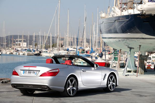 Mercedes SL 500 Edition 1 25