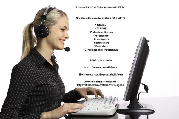 florence+zalucki+aide+administrative+dédiée