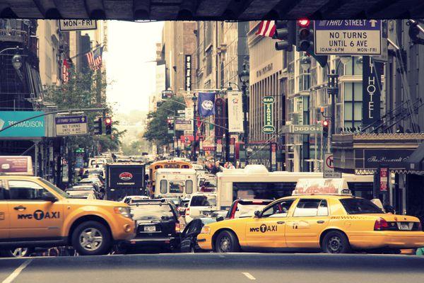 yellow cabs in New York Pauline Blog (10)