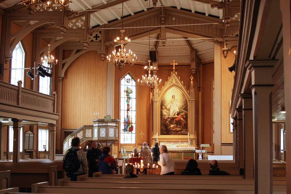 TROMSO - église en bois001
