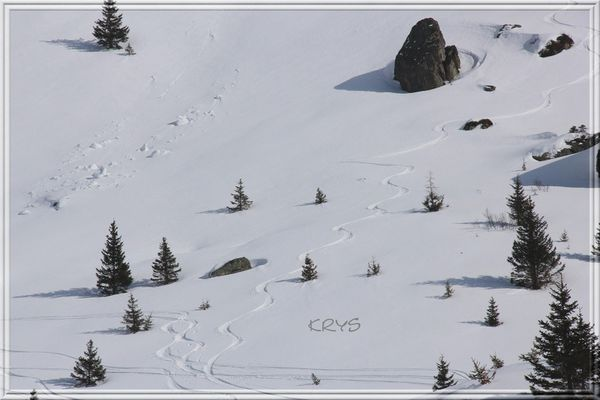 Traces ski 2