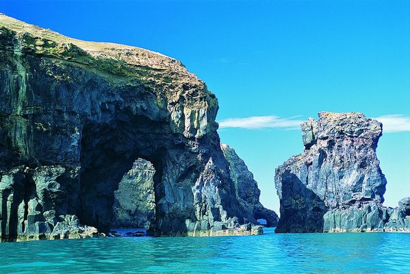 Elephant Rock, Akaroa Harbour, Banks Peninsula - Christchur