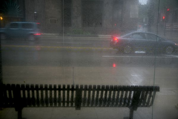 Milwaukee---Downtown---Rain 4756B
