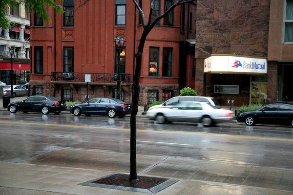 Milwaukee---Downtown---Rain 4786B
