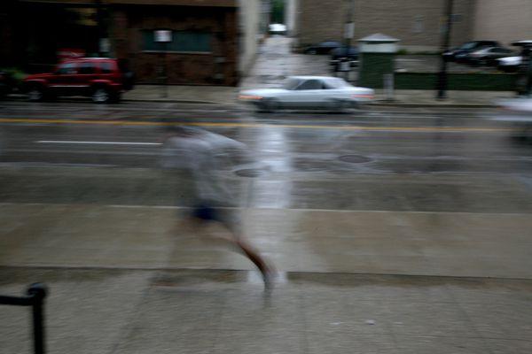 Milwaukee---Downtown---Rain 4792B