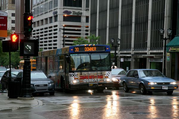 Milwaukee---Downtown---Rain 4807B