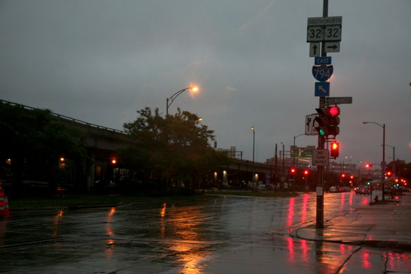 Milwaukee---Downtown---Rain 4941B