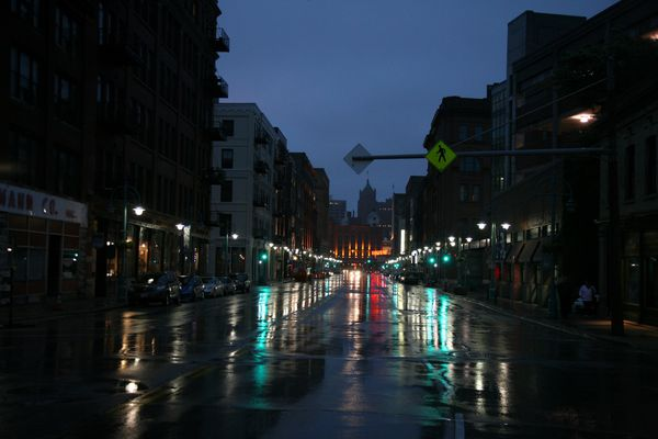Milwaukee---Downtown---Rain 4962B
