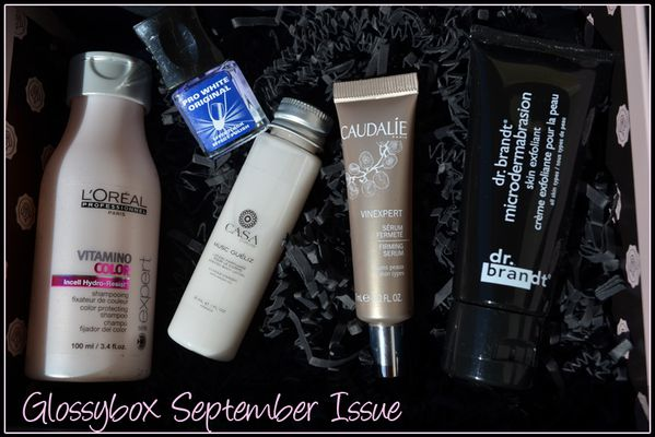 Glossybox September issue