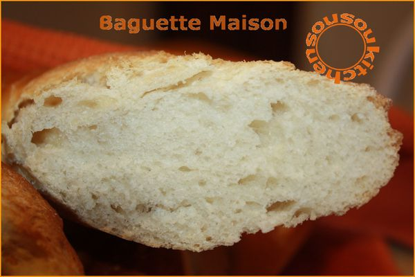 Pain Baguette Maison (8)