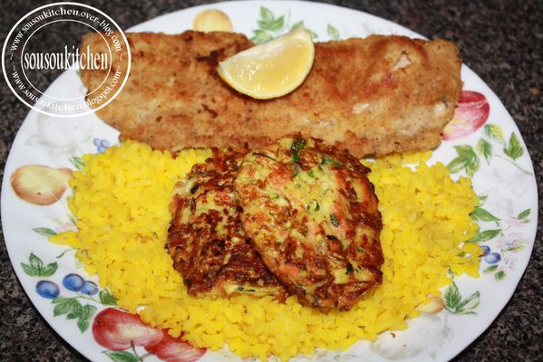 poisson panie & puree pancake courgette (42)
