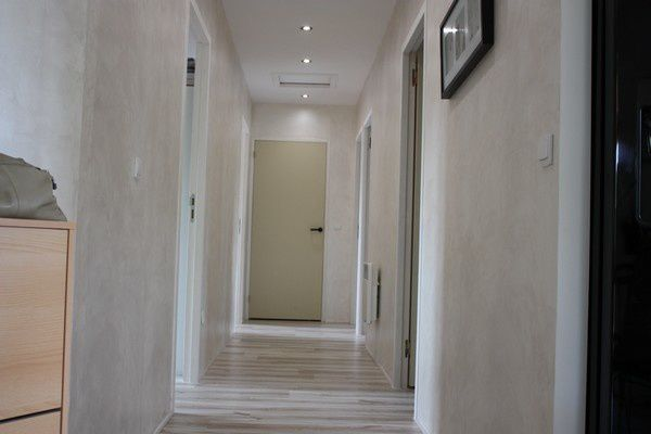 Avancement travaux interieurs le blog de notre maison en v for Couleur couloir