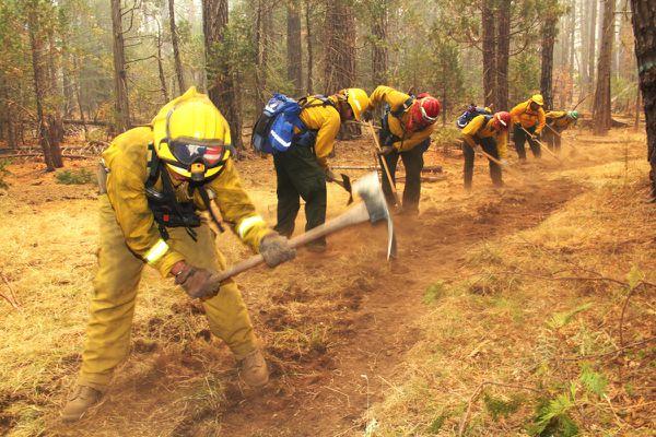 Incendie Rim Fire - Yosemite - Lutte contre le feu