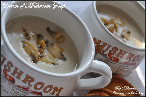 cream of mushrooms
