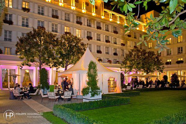 HOTEL LE BRISTOL - VUE JARDIN ©Philippe HUGONNARD