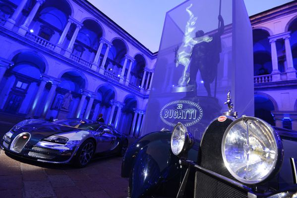 004 Bugatti Launch Event Milan