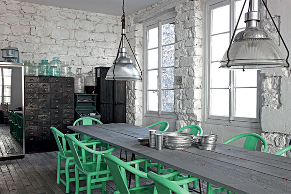 dining-room-green-chairs