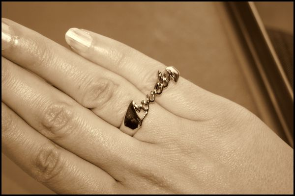 Bague double Lovely H&M