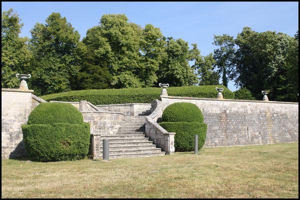 abbaye de Jumièges le parc
