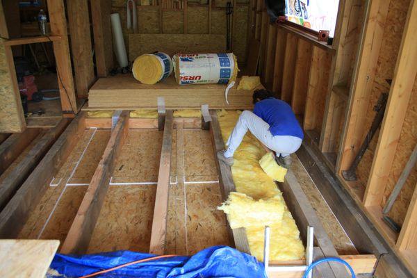 Plancher cuisine et mezzanine notremaison lodeve for Plancher mezzanine