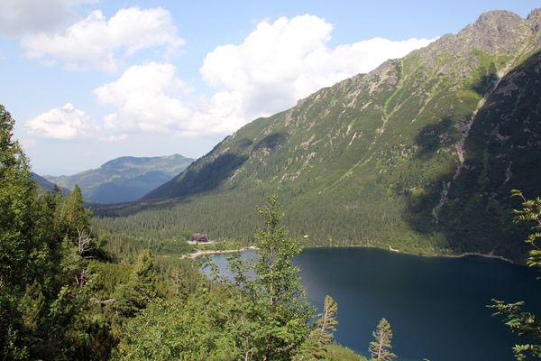 photo panorama rando à zakopane lac Morskie Oko 2