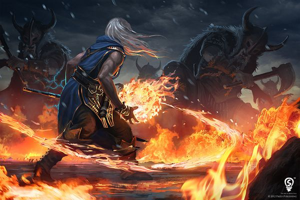 ezren vs the frost giants by bpsola-d5sqiwq