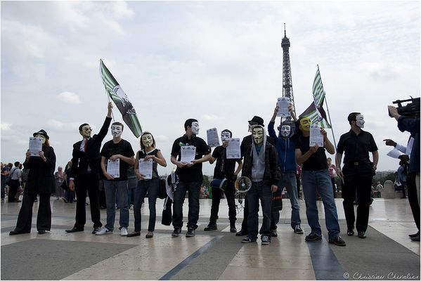 Anonymous contre indect