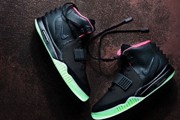Hello Monkey - Nike Air Yeezy 2 - Black Solar Red MAIN