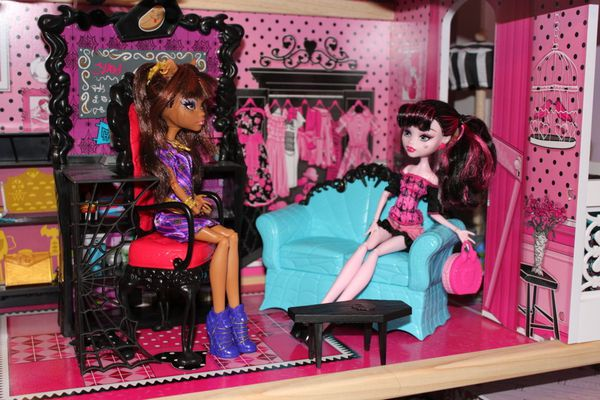 Mes accessoires monster high collection alyssa for Monster high accessoires de chambre