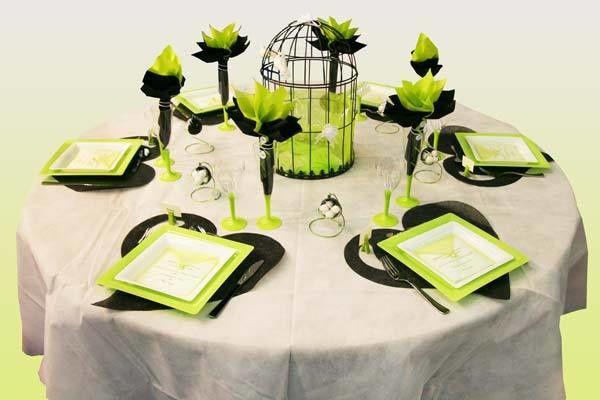 décoration vert /blanc - Le blog de lae-deco-mariage