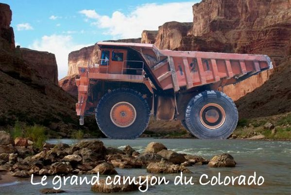 Le grand camyon du Colorado