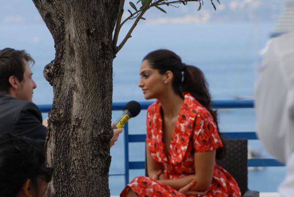 Sonam Kapoor's backstage pictures from Cannes 3
