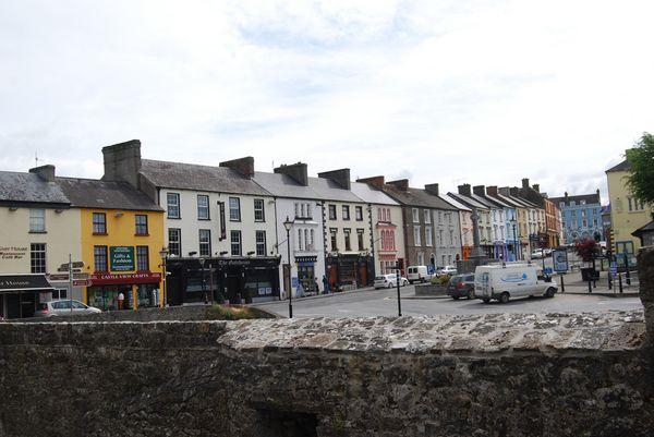 Cahir - rue principale - Irlande 2011