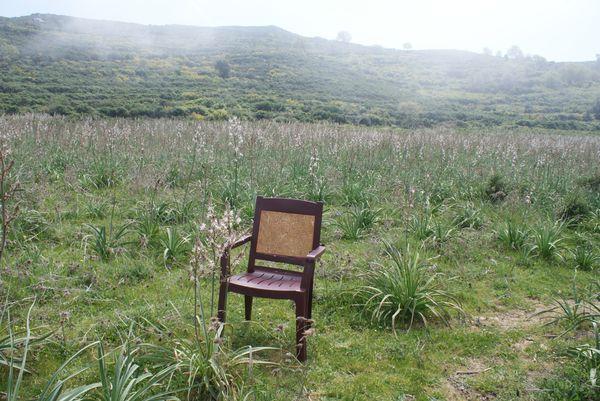chaise en campagne