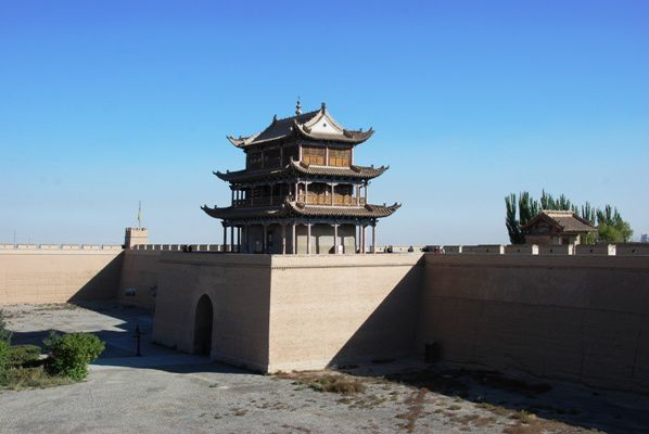 Le fort de Jiayu Pass