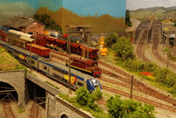 Trainsraidange r seau de trains miniatures raidange une for Garage mini luxembourg