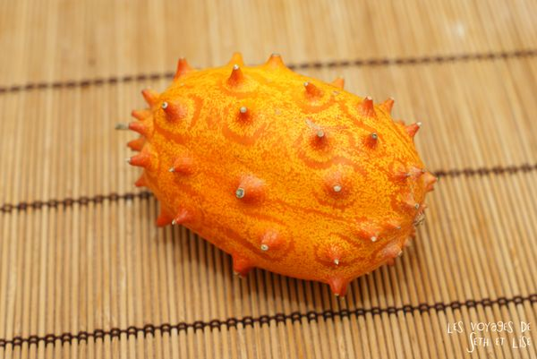 blog voyage culinaire kiwano fruit wtf insolite