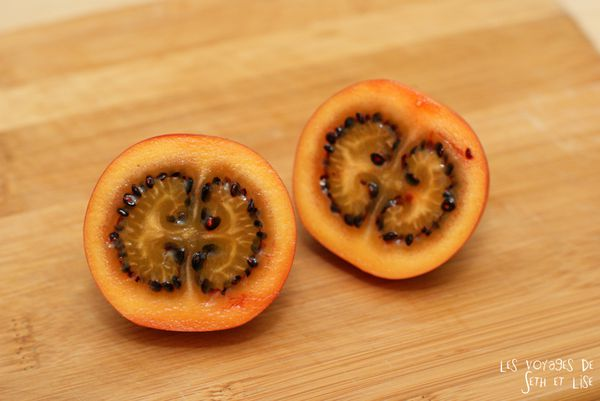 blog voyage culinaire tamarillo fruit exotique wtf insolite