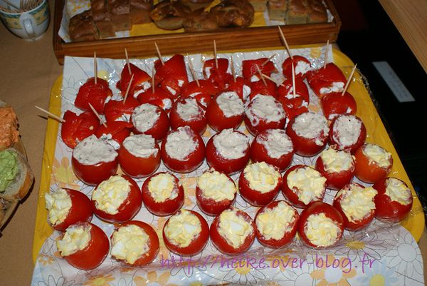 cuisine : tomates surprises