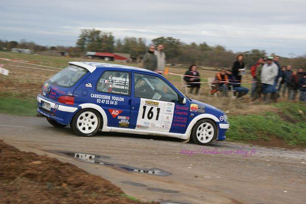 Rallye d'automne 2010 : Foulon et sa 106